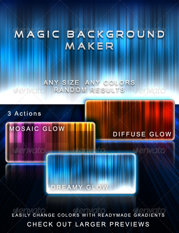 Magic Background Maker - Utilities Actions