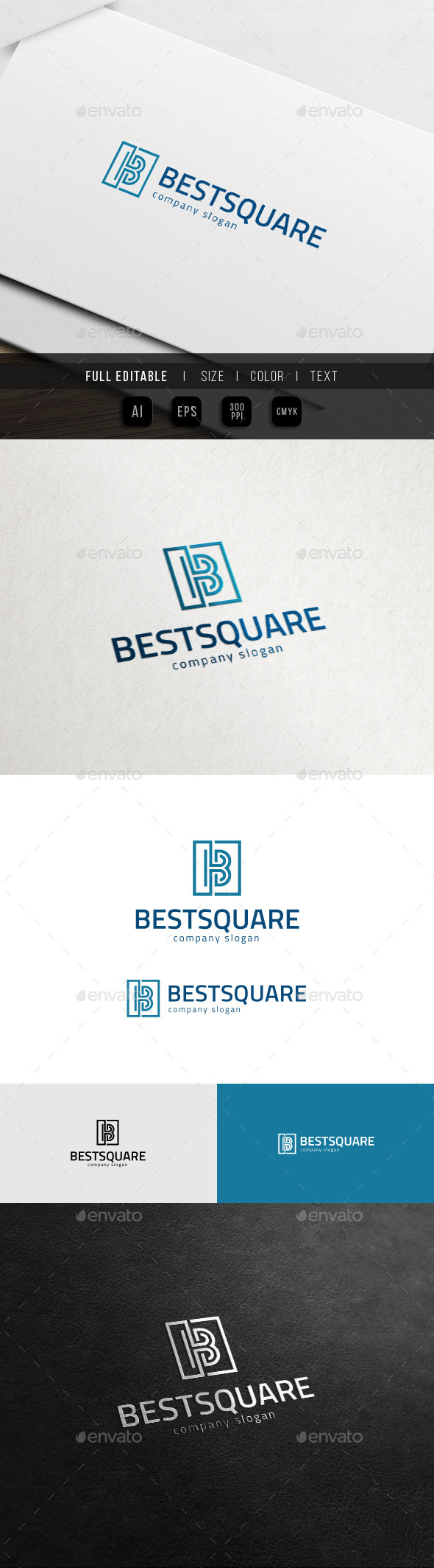 GraphicRiver B Logo Best Business Logo 11841028