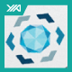 Diamond Navigation - Jewel Store Logo - GraphicRiver Item for Sale