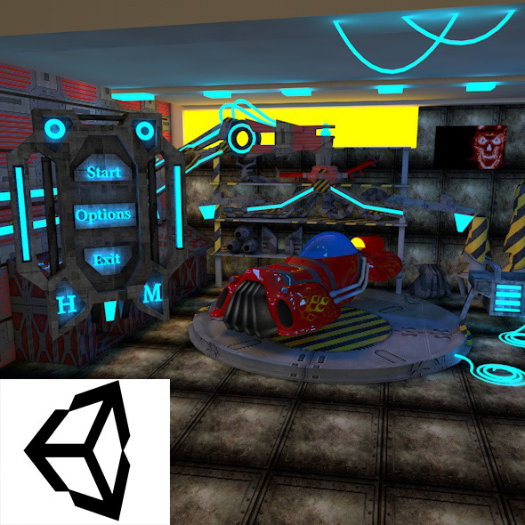3DOcean Garage 11841033
