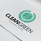 Clean Green Logo Template