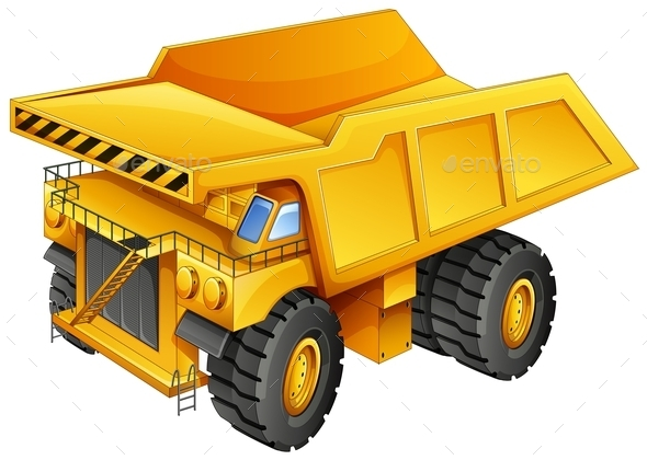 GraphicRiver Mining Truck 11841525