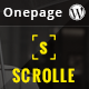 Scrolle Parallax One Page WordPress Theme - ThemeForest Item for Sale