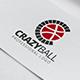 Crazy Ball Logo Template