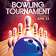 Bowling Tournament Event Flyer Template PSD - GraphicRiver Item for Sale