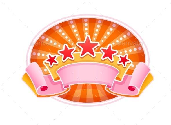 GraphicRiver Emblem Logo FOr Show Circus Or Casino 11842122