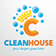 Clean House Logo Template - GraphicRiver Item for Sale
