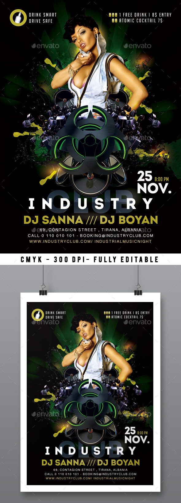 GraphicRiver Industrial Night 11842353