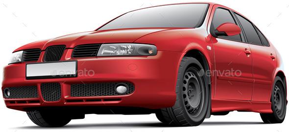 GraphicRiver Spanish 5-door Hatchback 11842496