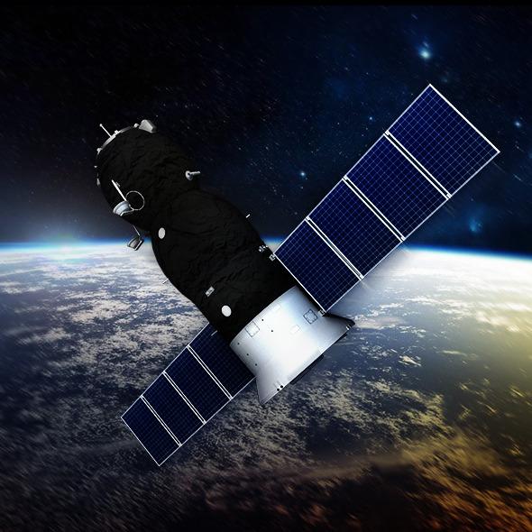 Spaceship Progress Soyuz - 3DOcean Item for Sale