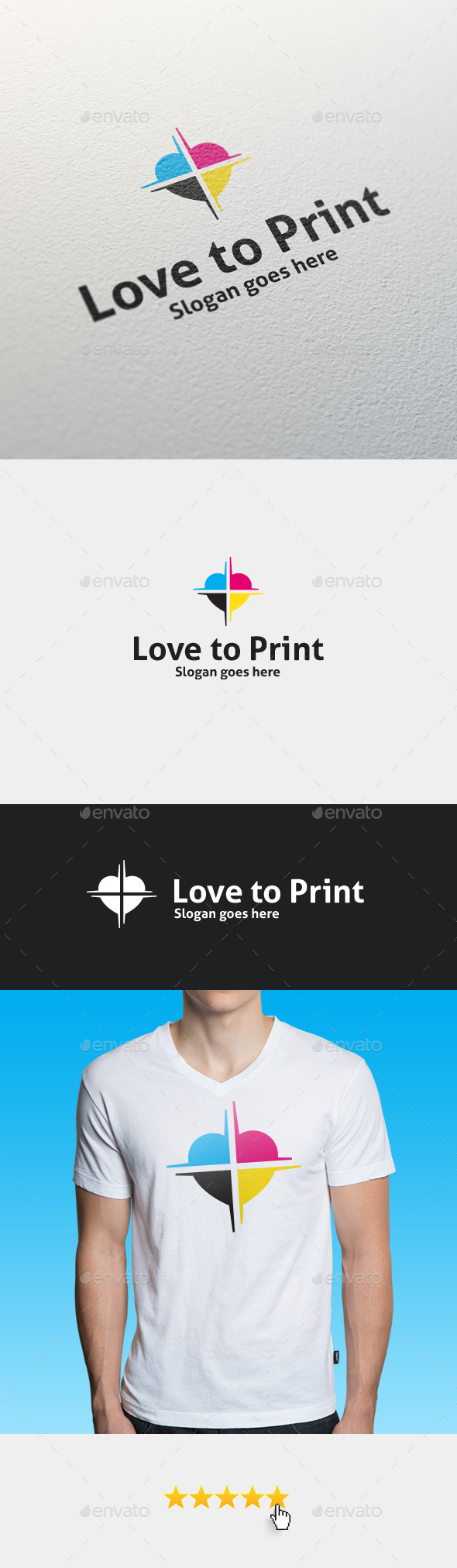 GraphicRiver Love To Print Logo Template 11842664