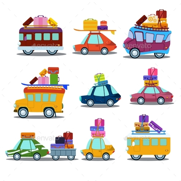 GraphicRiver Cars To Travel 11842731