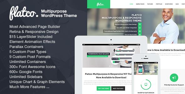 Flatco - Multipurpose & Responsive WordPress Theme - Business Corporate