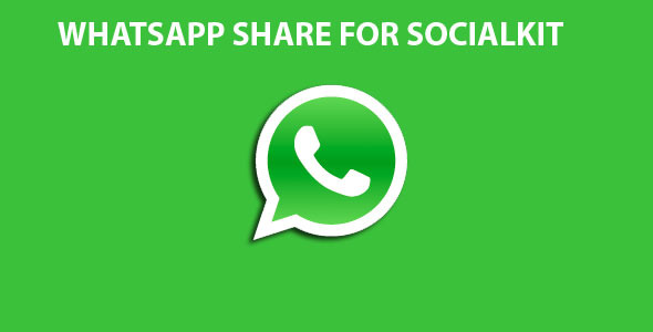 Whatsapp Share For Socialkit (Add-ons) Download