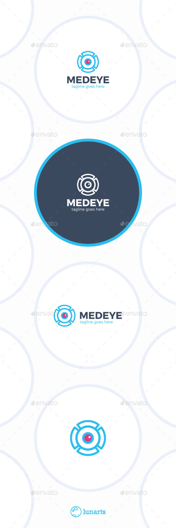 GraphicRiver Medical Eye Logo MRI 11842803
