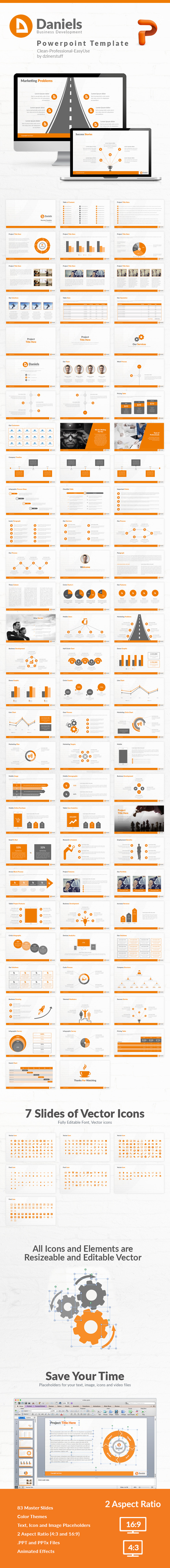 GraphicRiver Daniels Powerpoint Presentation Template 11843475
