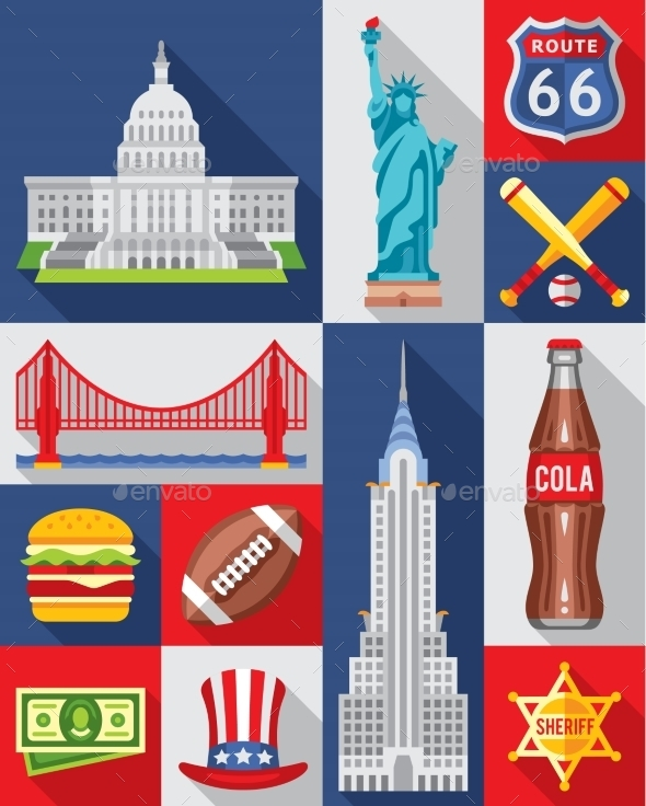 GraphicRiver Vector Set Of New York City 11843473