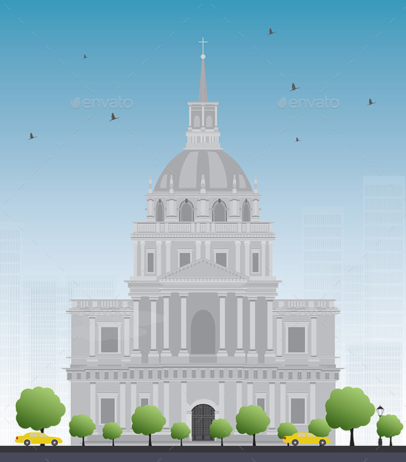 GraphicRiver Les Invalides Hospital and Chapel Dome 11824678