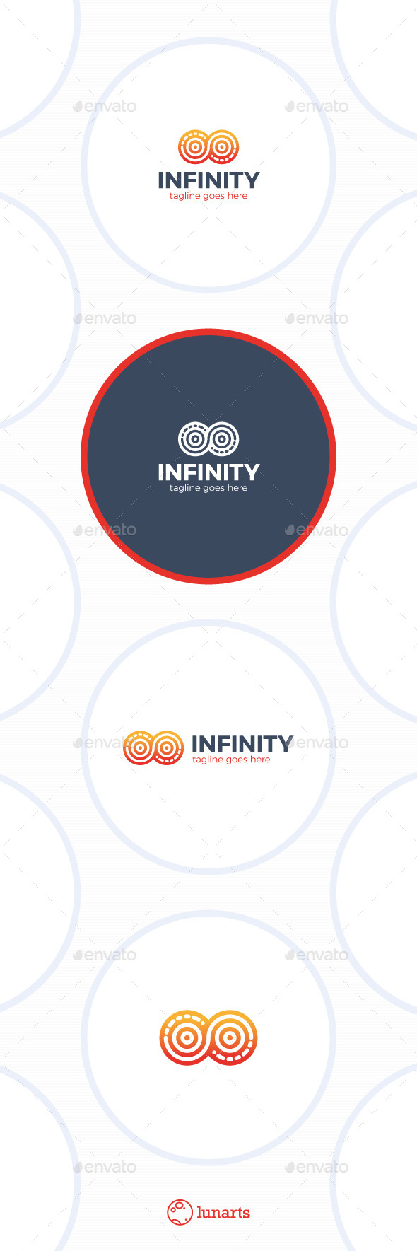 GraphicRiver Infinity Circle Logo 11844005