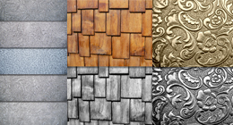 Frost Metal and Wood Collection - Real and Natural