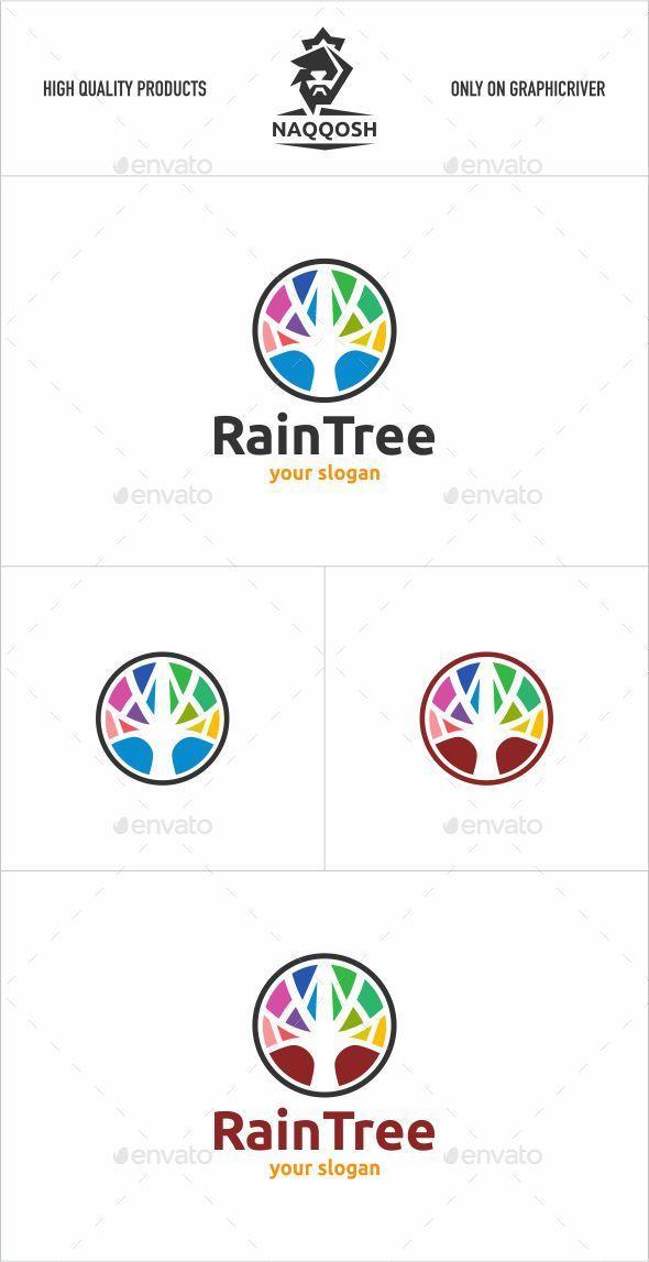 GraphicRiver Rain Tree 11844650