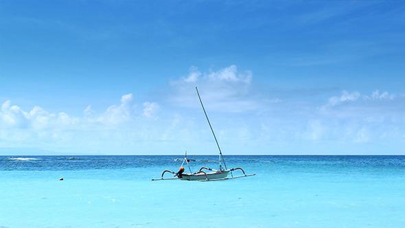 Fisherman Boat in Ocean