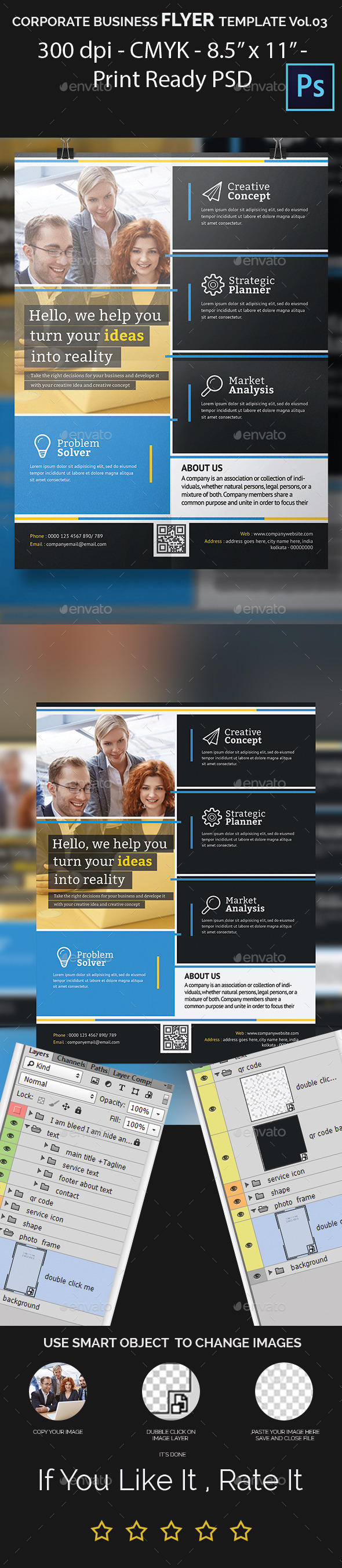 GraphicRiver Corporate Business Flyer Template Vol.03 11844245