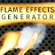 Flame Effects Generator - GraphicRiver Item for Sale