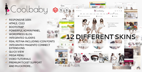 8 - Coolbaby - original Magento theme