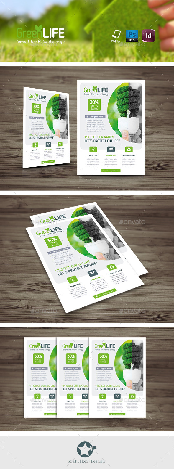 GraphicRiver Green Energy Flyer Templates 11844652