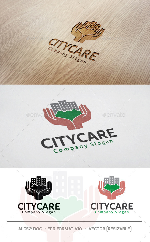 GraphicRiver City Care Logo 11846487