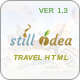 Stillidea - Travel, Clean HTML Template