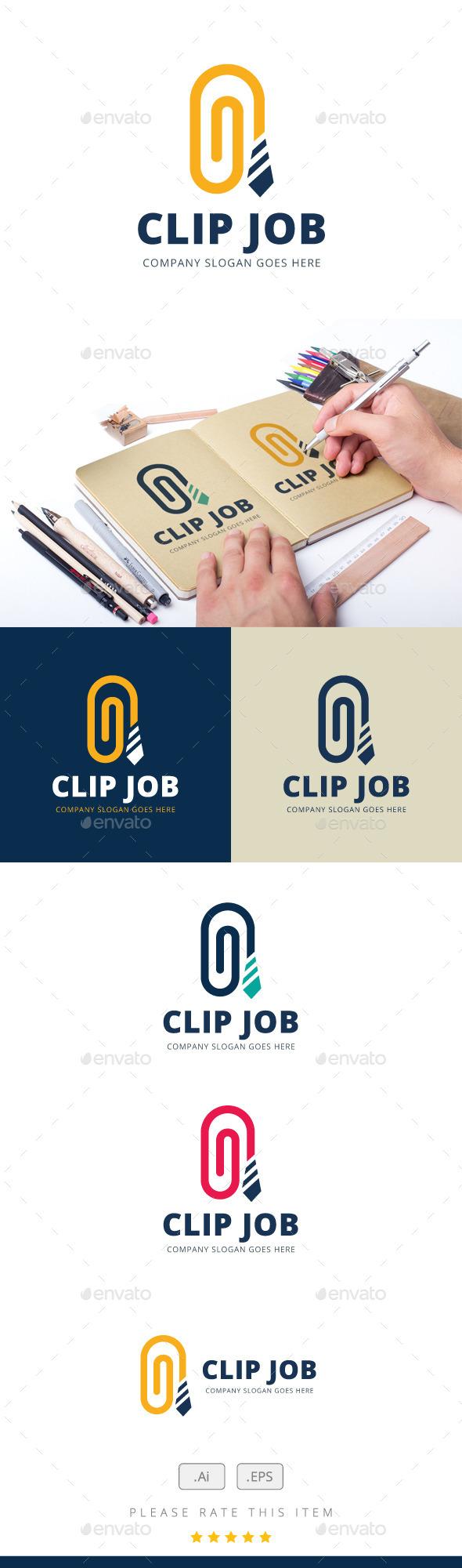 GraphicRiver Clip Job Logo 11846624