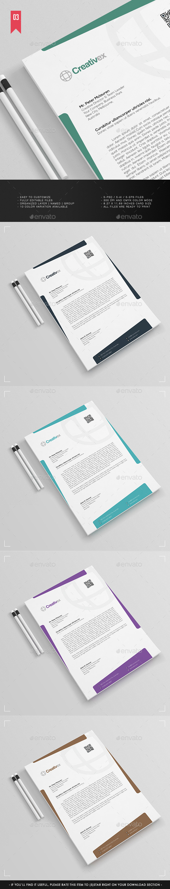 GraphicRiver A4 Business Letterhead V.003 11846737