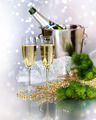 Champagne. New Year Celebration - PhotoDune Item for Sale