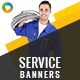 Service Banners - GraphicRiver Item for Sale