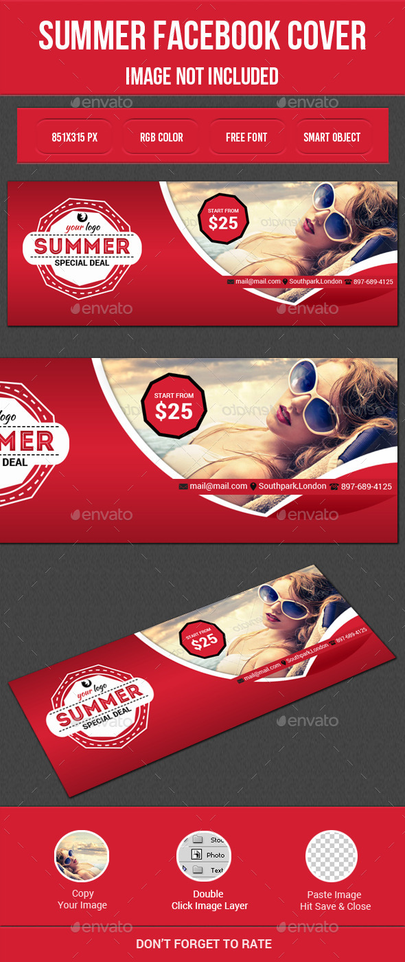 GraphicRiver Summer Sale Facebook Cover 11847528