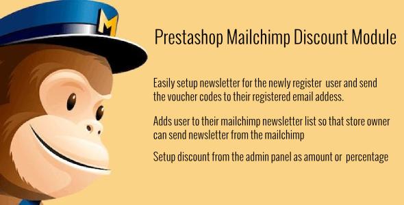 CodeCanyon Prestashop Mailchimp Discount 11847543