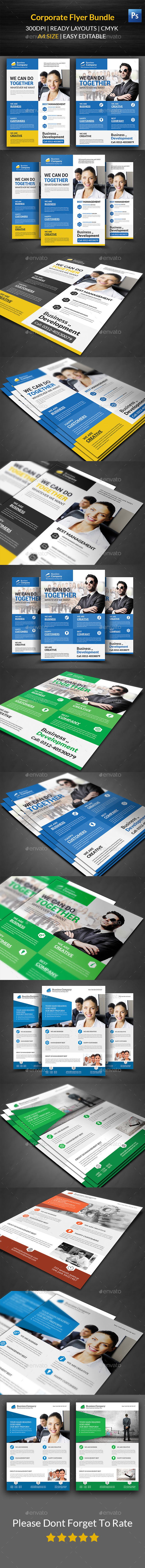 GraphicRiver Business Flyer Template Bundle 11848061