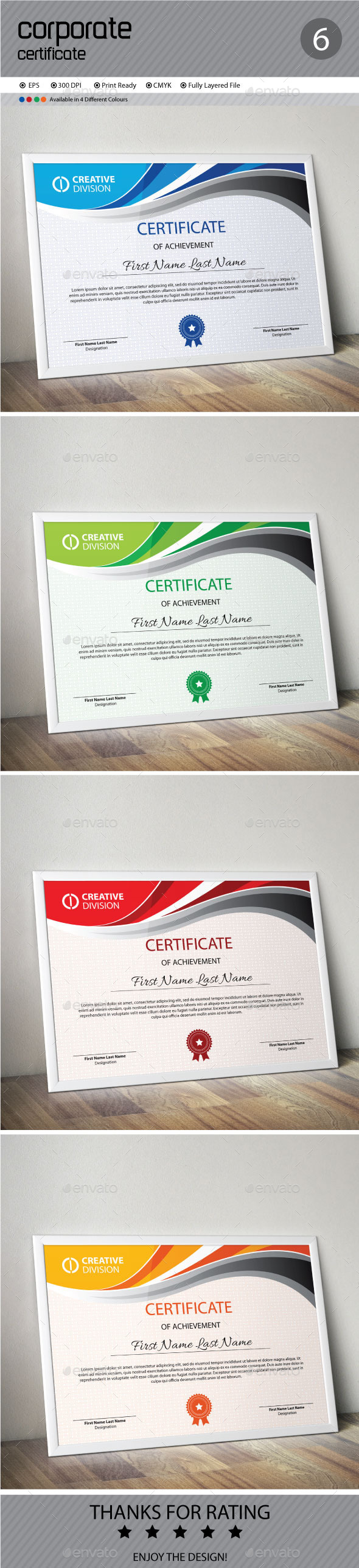 GraphicRiver Certificate 11848224
