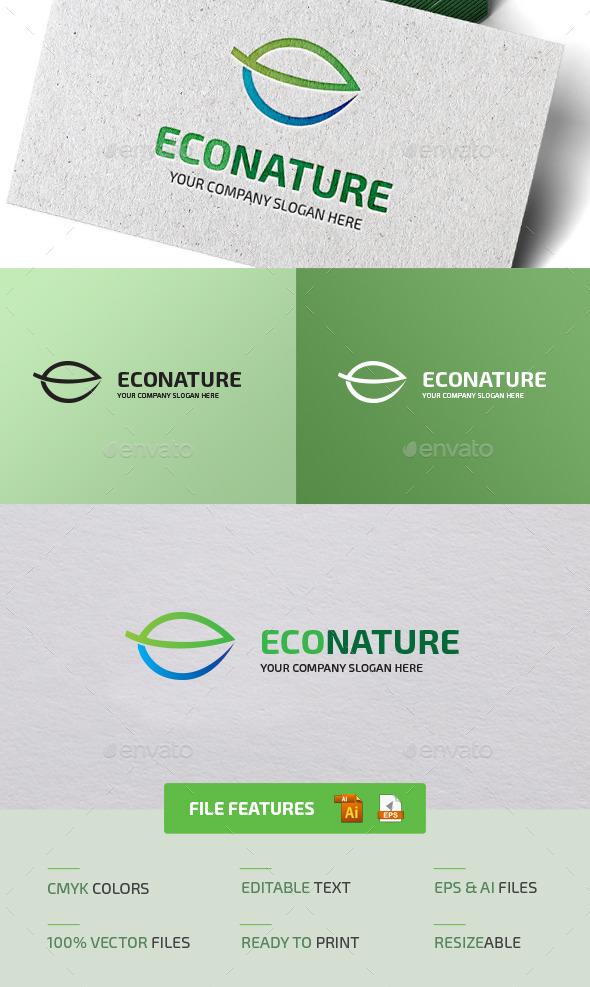 GraphicRiver Eco Nature Logo 11848281