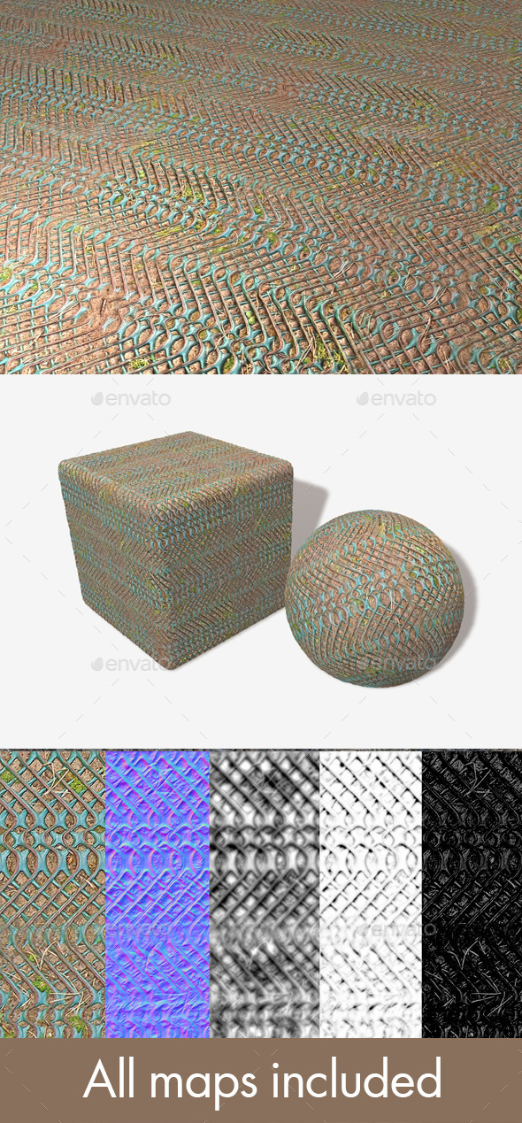 Forest Floor Grip Seamless Texture - 3DOcean Item for Sale