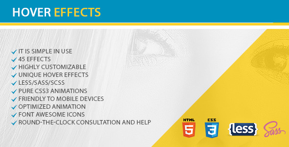 CodeCanyon Hovers Effects 11848542