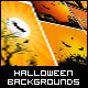 Halloween Backgrounds Party Set - GraphicRiver Item for Sale