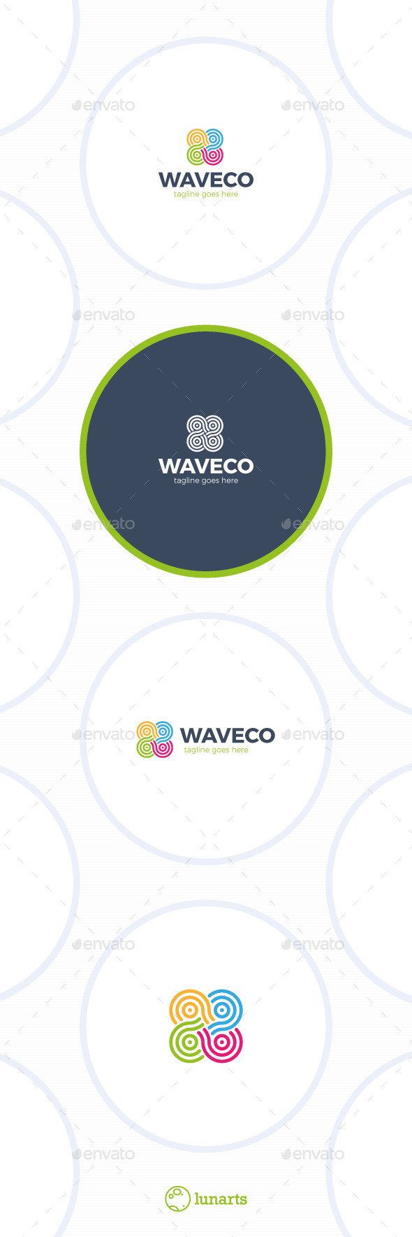 GraphicRiver Color Infinity Wave Logo 11848670