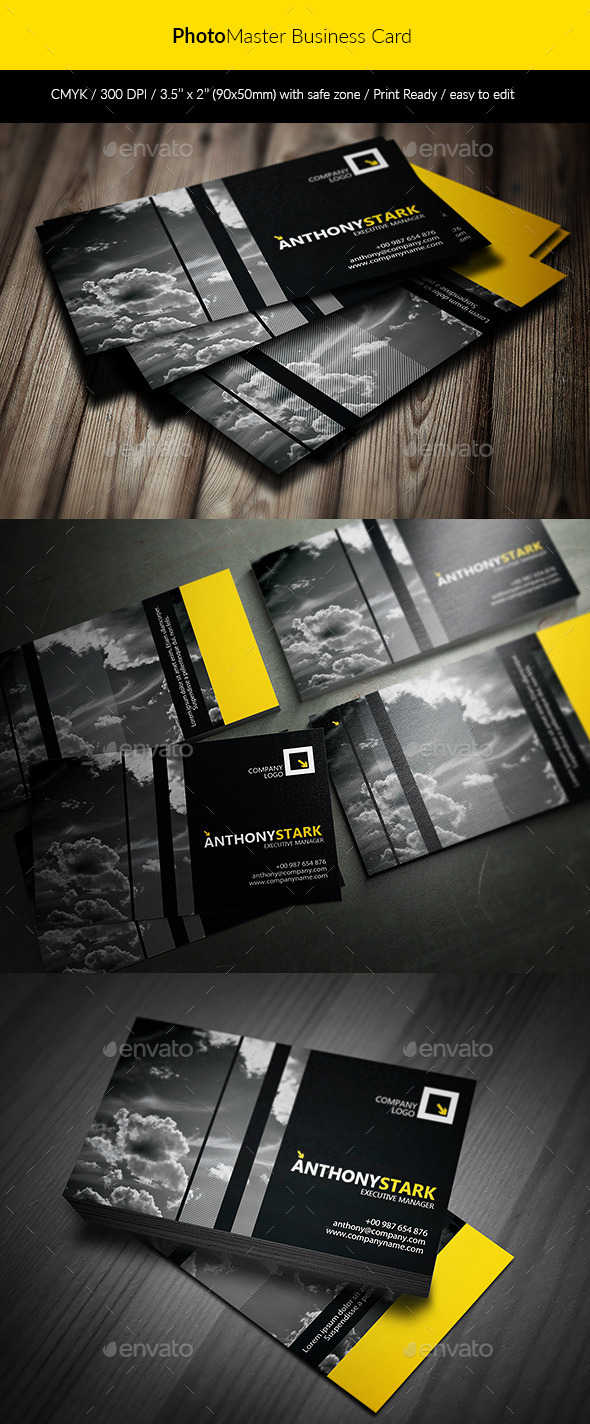 GraphicRiver PhotoMaster Business Card 11847536