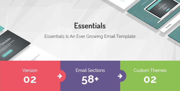 ThemeForest Essentials Responsive Multi-Purpose Email Template 11786707