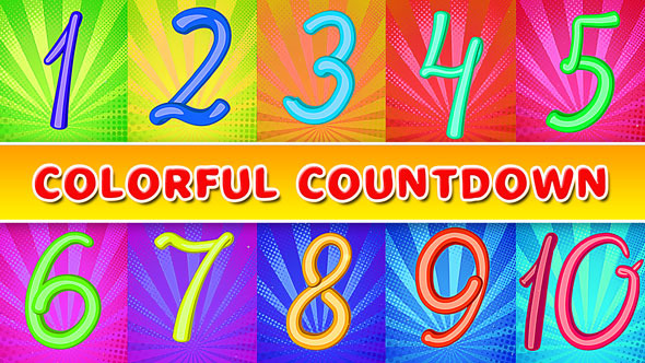 Colorful Countdown