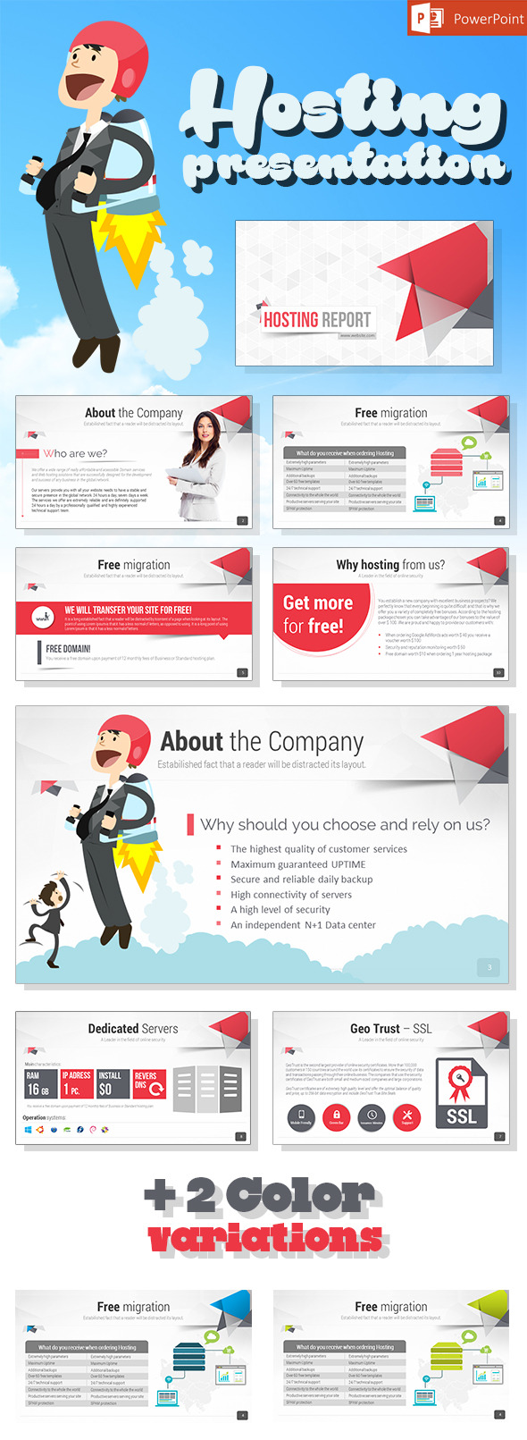 GraphicRiver Hosting Presentation 11849137