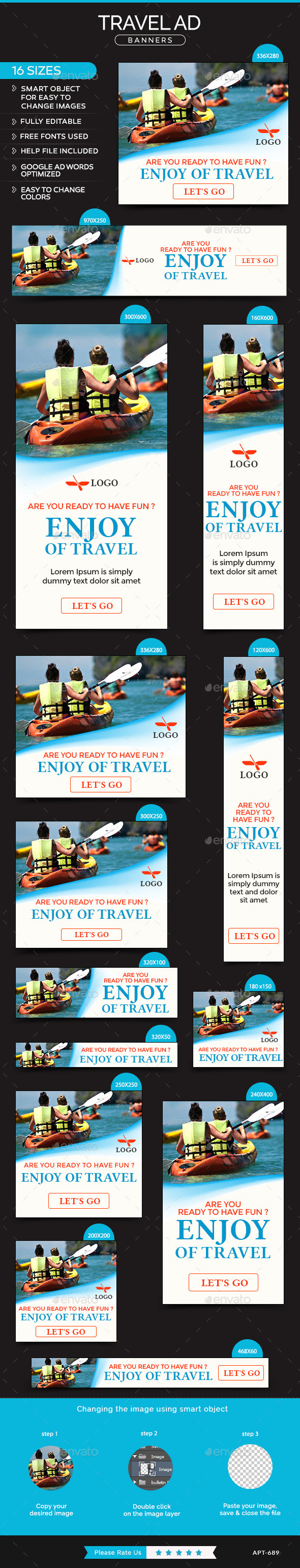 GraphicRiver Travel Banners 11849415